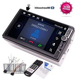 EinCar 7 inch Double Din Car Stereo MP5 Player with Bluetooh