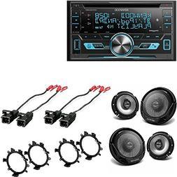 Kenwood Double DIN CD Bluetooth SiriusXM Car Stereo 4X Kenwo