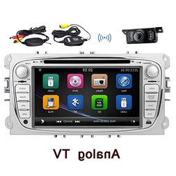Double Two Din 7 Inch HD touch-screen Car DVD Player For FOR