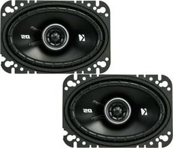 Kicker DSC4604  4 x 6 2-way Car Speakers