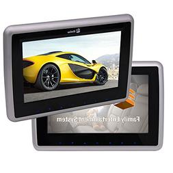 10 inch HD Dual Tablet-style car headrest DVD Players with T
