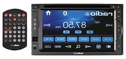 "Audiopipe 6.2"" DVD/CD Fixed Panel Receiver bluetooth AM/FM U"