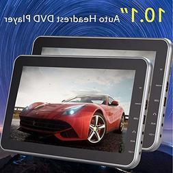 "Eincar 10.1"" DVD CD multimedia Player Car Headrest Digital H"