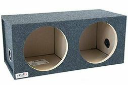 "Bbox E15D Dual 15"" Sealed Carpeted Subwoofer Enclosure"