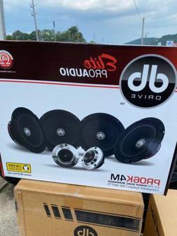 "DB DRIVE Elite Pro6k4W 6.5"" Midrange Component Car Speakers"