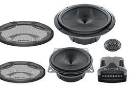 "Hertz Audio ESK 163L.5 6.5"" Energy Series 3-Way Component Sp"