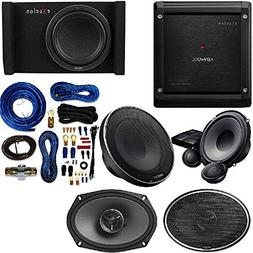 Kenwood EXCELON 6X9 2-Way COAXIAL Speaker 600 Watts with XR-