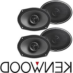 Kenwood Excelon Kfc-x694 2 Way 6x9 130w RMS Car Speakers