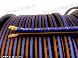400 ' feet True 14 Gauge AWG CCA Speaker Wire Car Home Audio