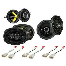 Fit Toyota Tacoma 2005-2014 Factory Speaker Replacement Kick