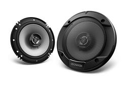 "Kenwood Flush Mount KFC-1666S 300 Watts 6.5"" 2-Way Car Audio"