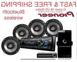 FREE SHIPPING New Pioneer Car Stereo Bluetooth Digital Media