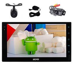 Front & Backup Camera included! Quad Core Stereo Autoradio D