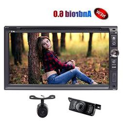 Front/Backup Camera + Eincar 6.95 Inch Car Stereo DVD Player