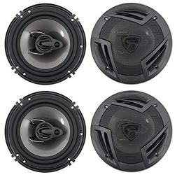 "Rockville 6.5"" Front+Rear Speaker Replacement for 2003-2008"