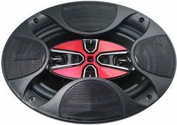 "SOUNDVOX Full Range Car Speakers, 4-Way 6x9"", 240W, SX-695"