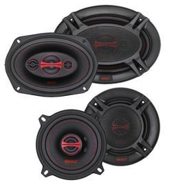 """DS18 GEN-X 6x9"""" + 6.5"""" Car Audio Door Speakers Combo 660 Wat"""