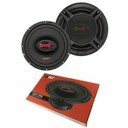 """GEN-X6.5 DS18 6.5"""" 3-way Car Door Speakers 300 Watts 4 Ohm C"""