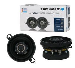 "Blaupunkt GTX350 3.5"" 2-WAY 200W MAX Power Car Audio Coaxial"