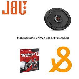"""JBL GX963 6"""" x 9"""" 210W 3-Way Speaker System + Ballistic Soun"""