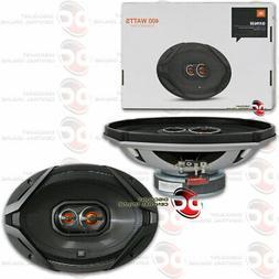 NEW JBL 6 x 9 INCH 3-WAY CAR AUDIO COAXIAL SPEAKERS PAIR GX