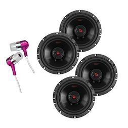 """2 Pairs of Cerwin-Vega H4652 300W 6.5"""" 2-Way HED Series Coax"""