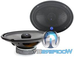 "CDT AUDIO HD-690CFX.2  6""X9"" 200W RMS 2-OHM CARBON FIBER COA"