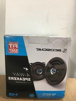 "SCOSCHE HD4004 HD Speakers - 4"" Set"