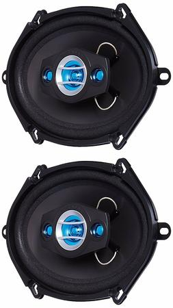 "SCOSCHE HD57684 HD Speakers - 5"" x 7"" / 6"" x 8"" Set"