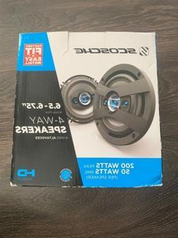 """SCOSCHE HD6504 HD Speakers - 6.5"""" - 6.75"""" Set"""