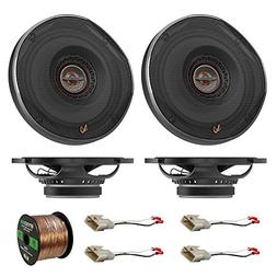 """4x Infinity REF-6522EX Shallow-Mount 6-1/2"""" Coaxial Car Spea"""
