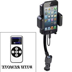 iPhone 7 Compatible Car Mount FM Transmitter Charger Holder