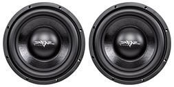 "Skar Audio IVX-10v2 D4 10"" 800W Max Power Dual 4 Subwoofer"