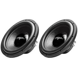 "NEW SKAR AUDIO IX-12 D4 12"" 500W MAX POWER DUAL 4 SUBWOOFER"