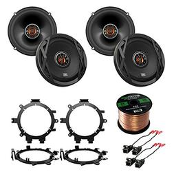 "4x JBL 6.5"" Club Series 2-Way Car Audio Speakers, with 4x En"