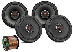 "4x JBL 6.5"" 2-Way GX Series 360-Watt Coaxial Car Audio Loud"