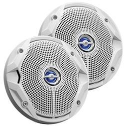JBL MS6520 180W, 6.5 Coaxial Marine Speakers -  White - 1 Ye