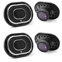 Jl Audio C2-690tx 6x9-Inch 3 Way Speakers with Silk Dome Twe