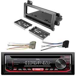 EnrockAudio JVC KD-R490 Single DIN In-Dash CD AM/FM USB AUX