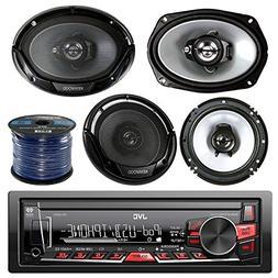 JVC KD-X220 Single Din MP3/WMA/AM/FM Digital Media Marine Bo
