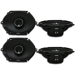 2 Pairs of Infinity Kappa 682.11cf 6x8 / 5x7 2-Way Car Audio