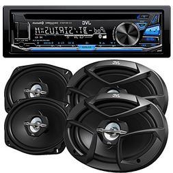 JVC KD-R875BTS CD with 6x9 CSJ6930 Speakers