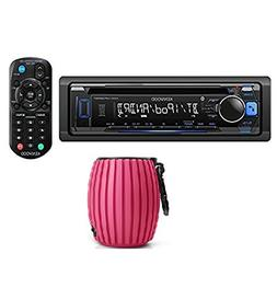 Kenwood KDC-MP368BT Car Single DIN In-Dash CD MP3 Stereo Rec