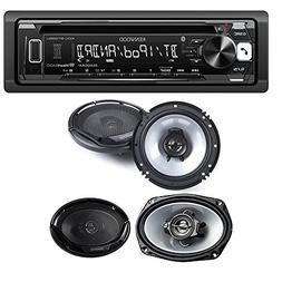 Kenwood KDC-BT265U Single DIN Bluetooth In-Dash CD/AM/FM Car