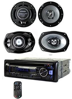 Kenwood KDC-BT362U Bluetooth Player Car Stereo Radio + 6.5 &