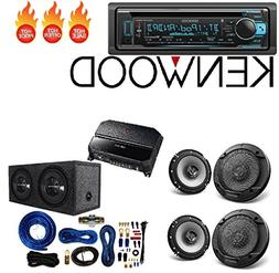 "Kenwood KDC-BT368U CD/MP3 Player Built-in Bluetooth 6.5"" 6-1"