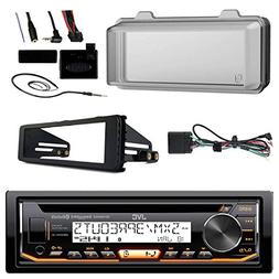 JVC KDR97MBS Marine Radio Stereo Receiver For 1998-2013 Harl