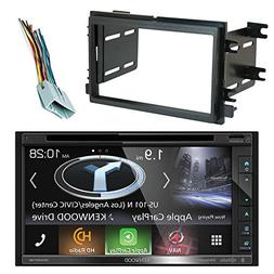 Kenwood DNX574S Resistive Panel Navigation Double-DIN DVD CD