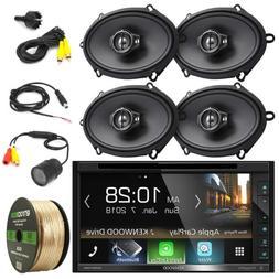 "Kenwood DVD CD HD Bluetooth Car Stereo, Rear Camera, 5x7"" 3-"