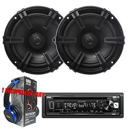 Package Kenwood KDC-BT265U Bluetooth CD/AM/FM Car Stereo Rec